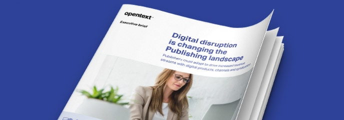 Digital disruption is changing the Publishing landscape white paper thumbnail